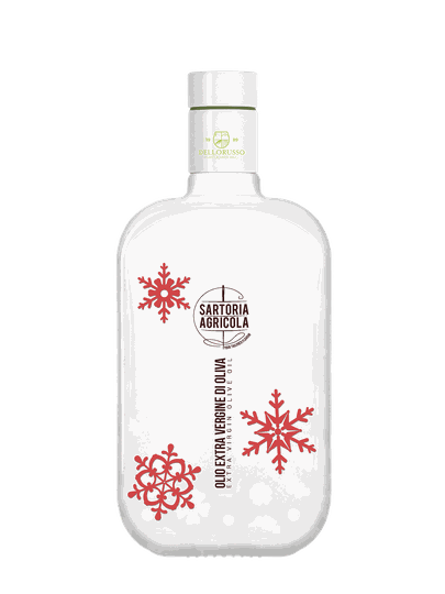 """Huile d'Olive Sartoria Agricola """"Xmas White"""" Special Edition"""