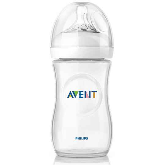 Avent zuigfles natural 260ml wit