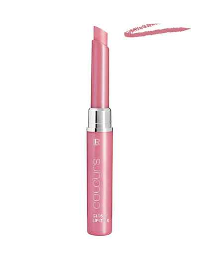 Colours Glossy Lipstick - Crystal Rose