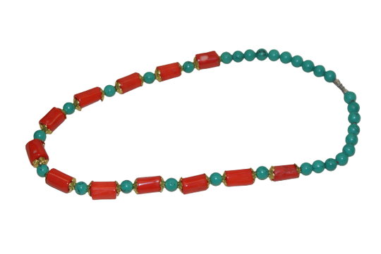 Traditional Tibetan necklace for kids