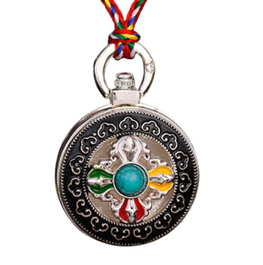 Eight Auspicious Symbols Necklace