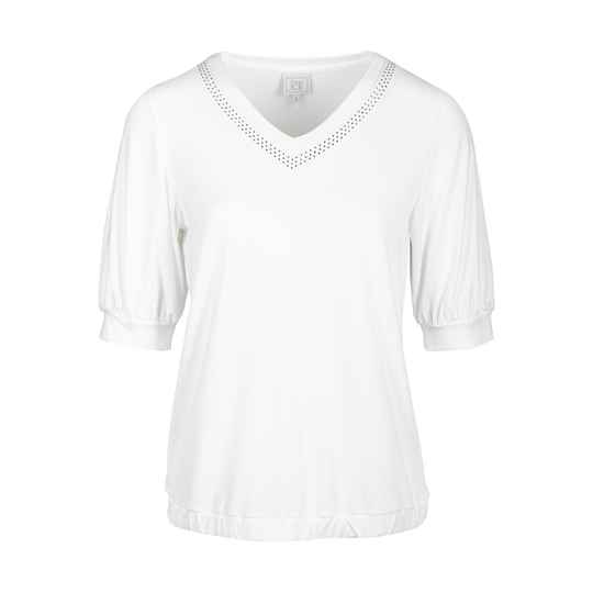 t-shirt Green Ice constant white