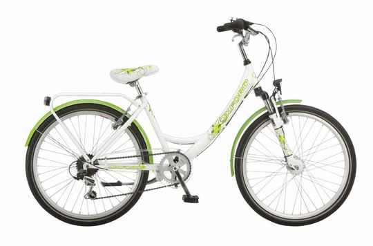 "Oxford youngland dame 20"" wit groen"