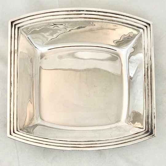 Bread Basket, Art Deco, Delheid Frères, Brussels 1925-35