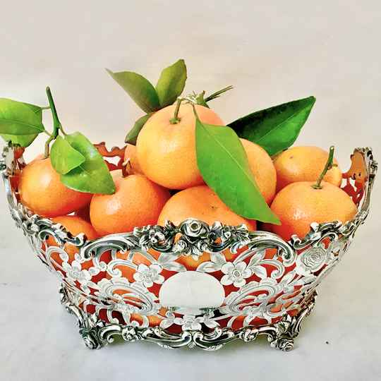 Louis XV fruit basket, C. S. Harris, London, 1902