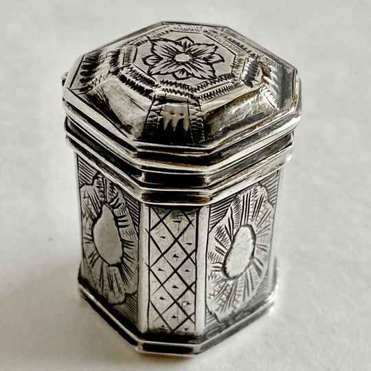 Box, Ath 1772, sterling silver