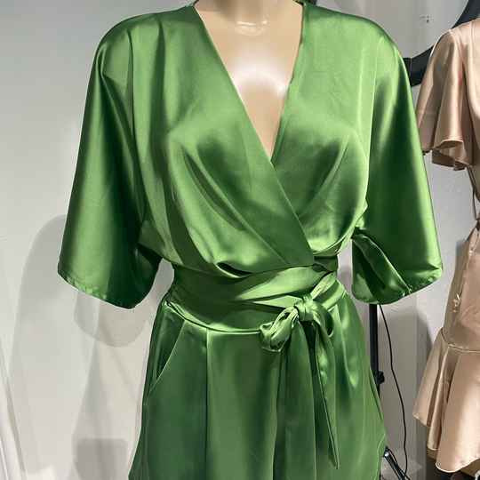 PRE-ORDER* JESSY Two Piece - Green