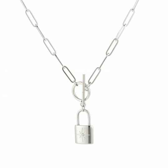 Morning Star necklace - SILVER