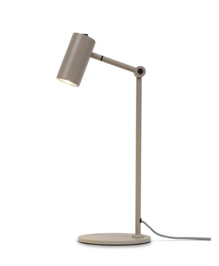 Table lamp iron Montreux LED sand