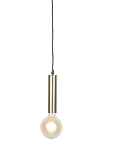 Hanging lamp iron Cannes gold, L