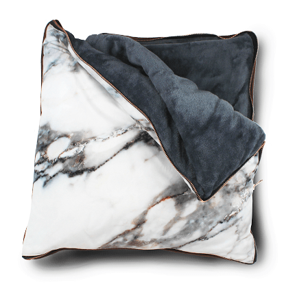 Plaid/Pillow Marble