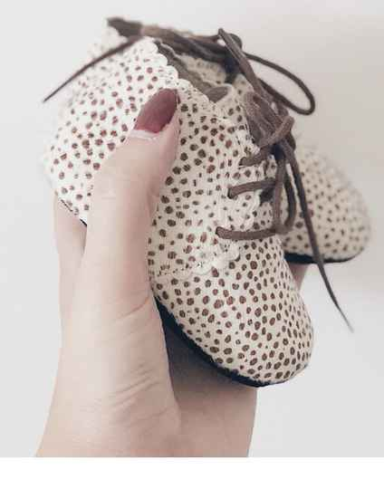 Moon boots Dolly boots - Salted cream dots