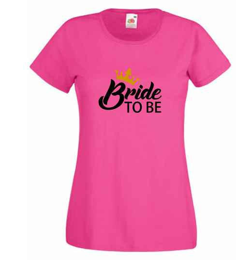 T-shirt vrouw - Bride to be