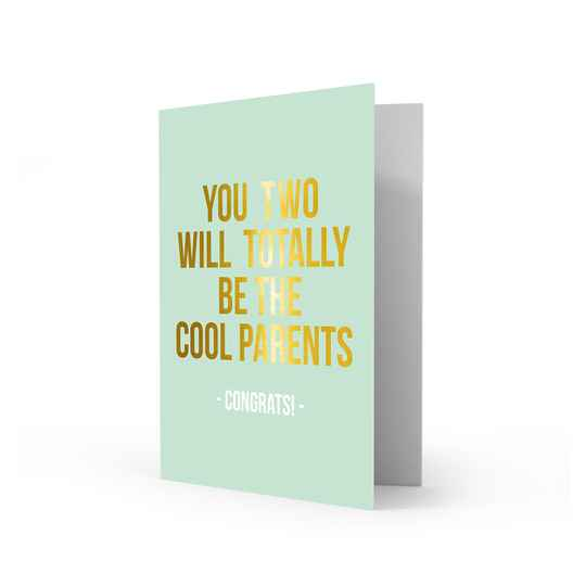 Wenskaart - Cool Parents - Studio Stationery