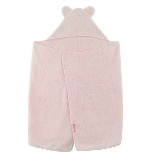 Badcape Baby Shower - Pale Pink - Little Crevette