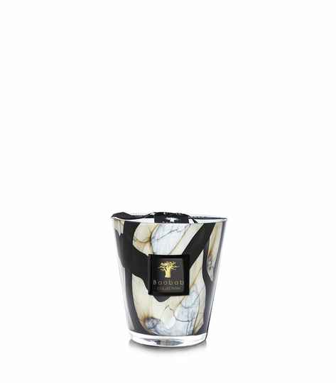 Baobab Scented Candle Stones Marble MAX16