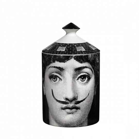 Fornasetti Scented Candle La Femme Aux Moustaches - 300g