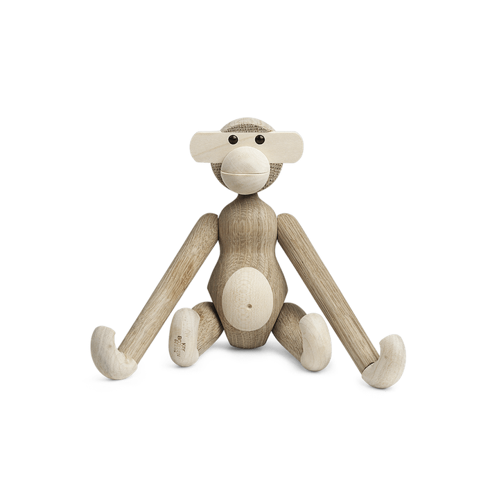 Kay Bojesen monkey oak/maple Small H20cm