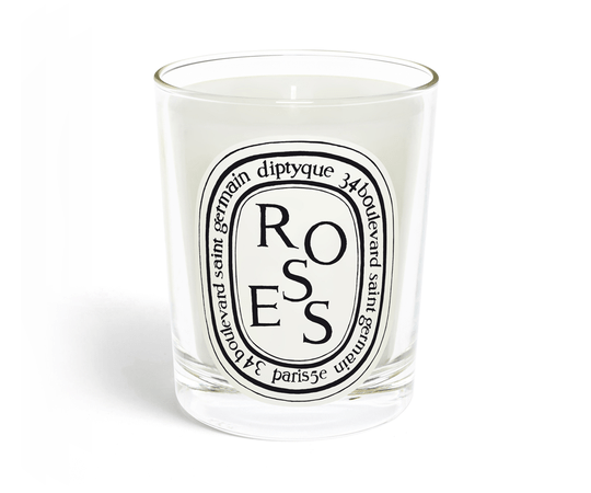 Diptyque - Scented Candle 190gr - Roses
