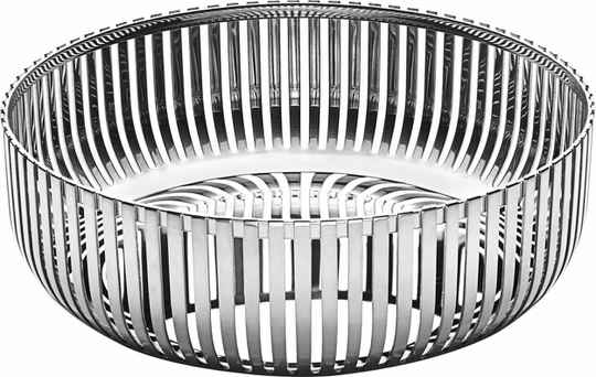 Alessi PCH02 basket stainless steel dia 15cm