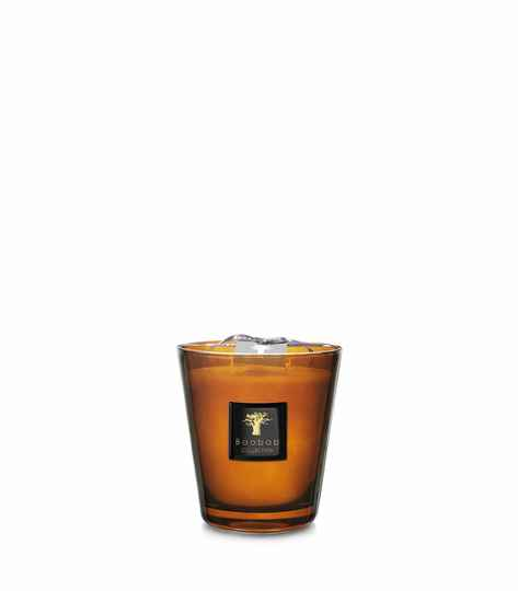 Baobab Scented Candle Cuir de Russie MAX16