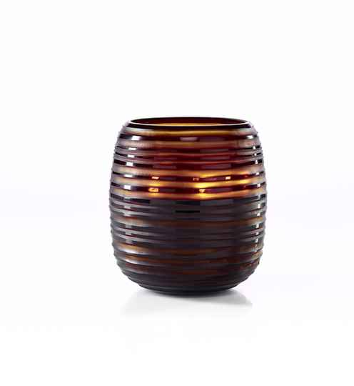 GLCE - Onno Scented Candle Sphere Amber, Ginger Fig, Extra Large Ø23xH26