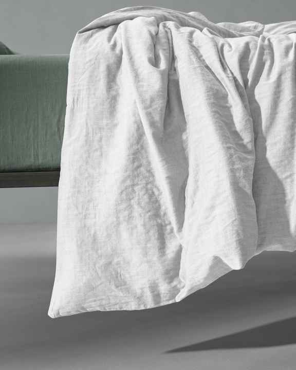 Society Duvet Cover Miro, color Bianco