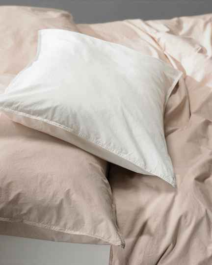 Society Pillow Cases Nite, color Bianco (set of two)