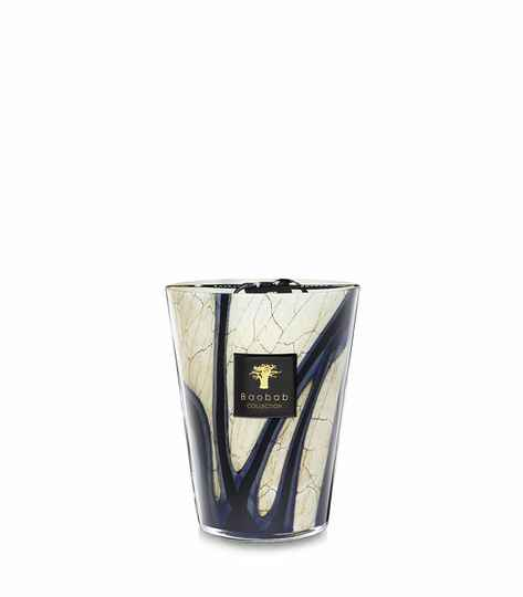 Baobab Scented Candle Stones Lazuli MAX24