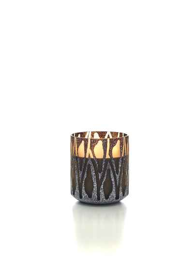 Onno Scented Candle Nature Brown, Safari, large Ø18xH20