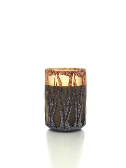 Onno Scented Candle Nature Brown, Safari, extra large Ø20xH28