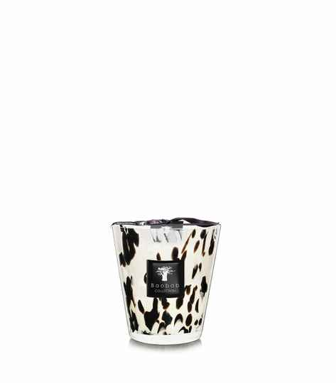 Baobab Scented Candle Black pearls MAX16