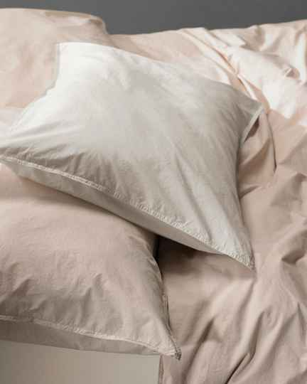 Society Pillow Cases Nite, color Marmo (set of two)