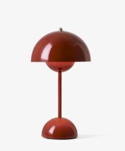 &Tradition - Flowerpot VP9 portable lamp - Red brown