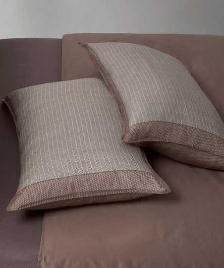 Society Pillow Cases Nap Spin, color Verbena (set of two)