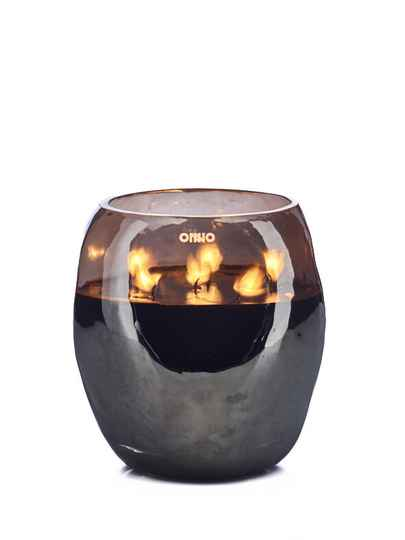 Onno Scented Candle Cape Smoke Grey, Sage, large Ø18xH20