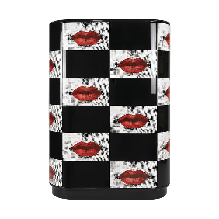 Fornasetti curved cabinet Kiss e Comme des Forna