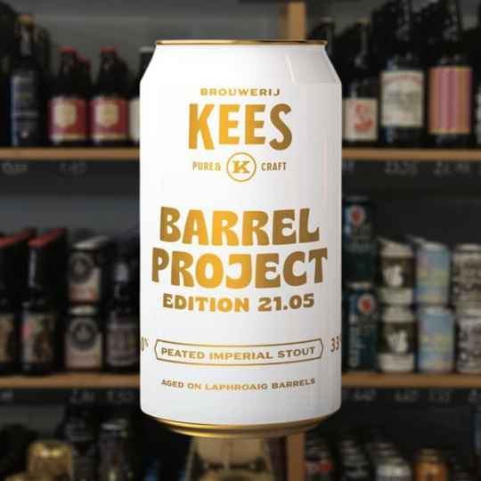 Kees | Barrel Project 21.05 peated Imperial stout | Stout