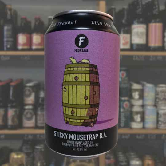 Frontaal | Sticky Mousetrap | Barrel Aged