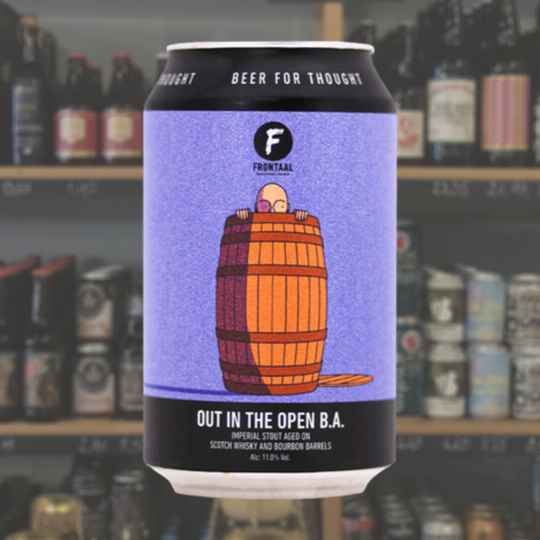 Frontaal | Out in the open B.A. | Stout