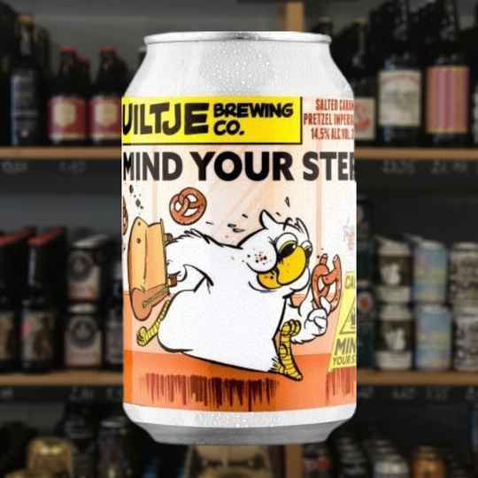 Uiltje Mind your step - Imperial Stout Peat Smoke edition