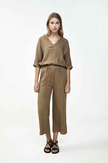 By Bar Ines linen pant - sepia