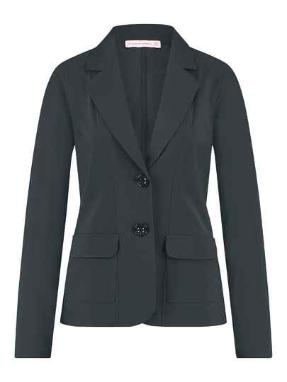 Studio Anneloes clean blazer - dark grey