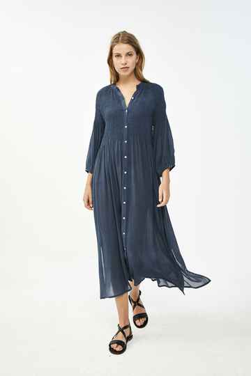 By Bar Loulou smocked dress - oil blue