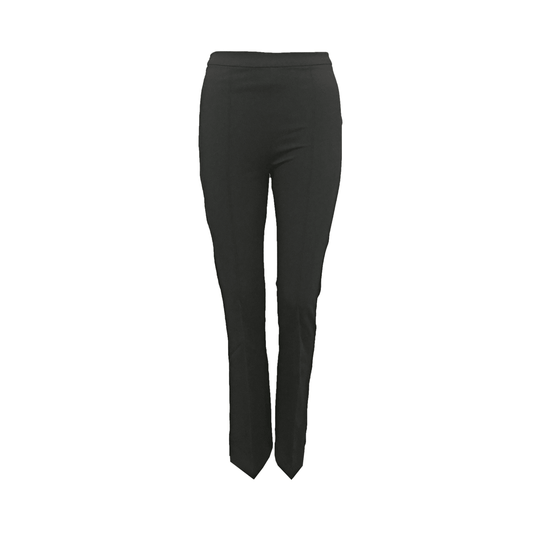 Flared trouser - zwart