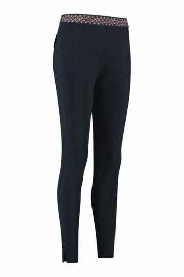 Studio Anneloes Air trousers - dark blue