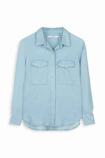 Homage to denim - Tencel jeans blouse