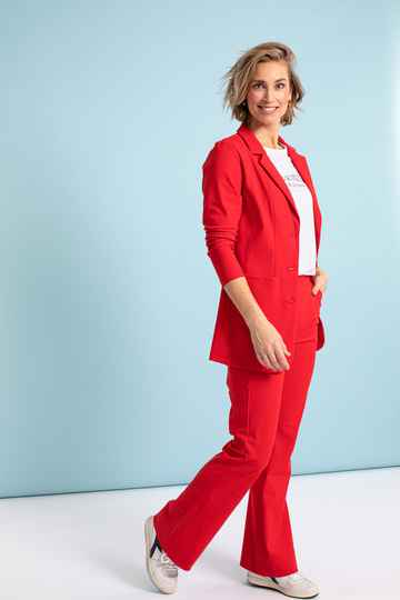 Studio Anneloes - Flair bonded trouser red