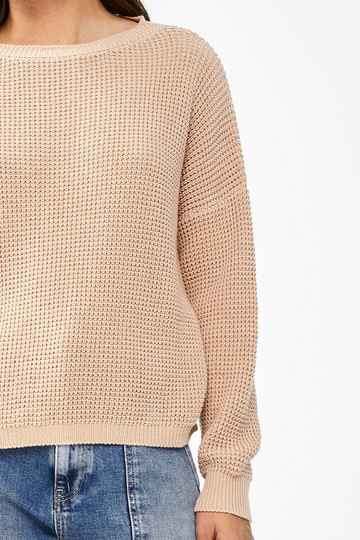 By Bar Malu pullover - nude