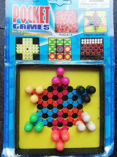 zakspel pocket game chinese checkers